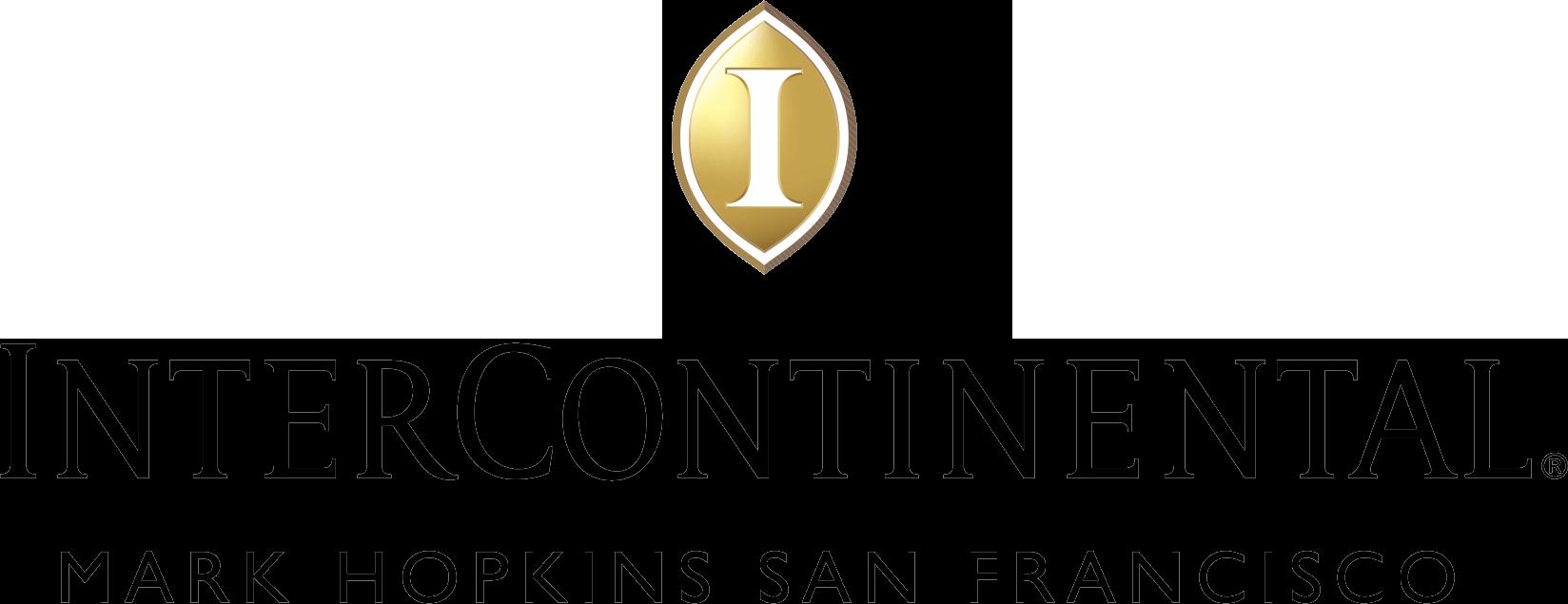 Logo Intercontinental Mark Hopkins san Francisco horizontal
